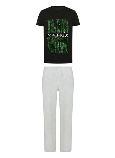 Penti Çok Renkli Lic Matrix Code Ss Pantolon Takımı Renkli